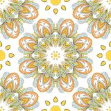 Round seamless pattern Stock Photos