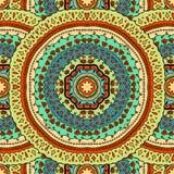 Round seamless pattern Stock Image