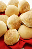 Round Sesame Seed Rolls Stock Images