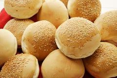 Round Sesame Seed Rolls Stock Image