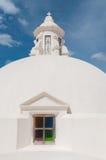 Round sfera dach na górze kościół z Obrazy Royalty Free