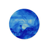 Round shape background. Winter backdround. Winter backdround. In. K circle. Cloud of ink in water isolated on white Royalty Free Illustration