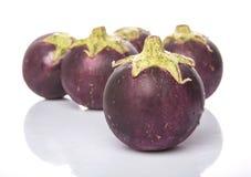 Round Shape Eggplant VI Royalty Free Stock Image