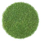 Round shape grass Stock Photography
