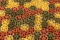 Round shape pasta Stock Images