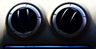 Cars interior air cooler fan isolated object photograph stock photography