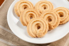 Round shaped cookie Stock Images