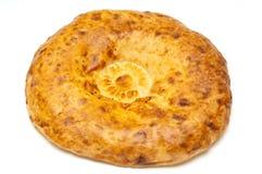 Round shaped fresh bread Royalty Free Stock Photo