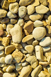 Round shaped river stones Stock Photography