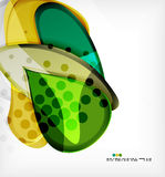Round shapes abstract vector background Stock Image