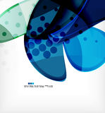 Round shapes abstract vector background Stock Images