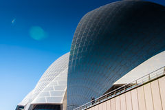 Round Shapes Of The Roof Of Sydney Opera House royalty free stock photography
