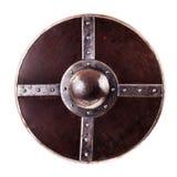 Round shield stock image