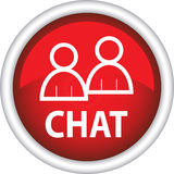 Icon, sign, symbol, chat Stock Photography