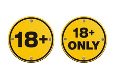 18  round signs Royalty Free Stock Photo