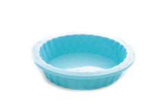 Round silicone cake form Royalty Free Stock Photos