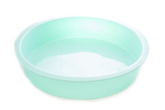 Round silicone cake form Stock Images