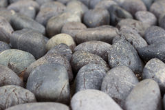 Round sleeky cobbles Stock Photography