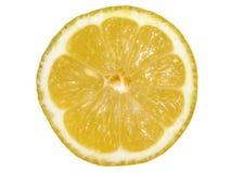 Slice of lemon royalty free stock photo