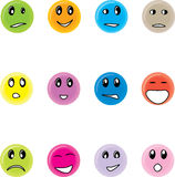 Round smiles Stock Photo