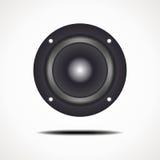 Round speaker Stock Images