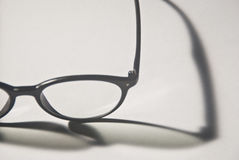 Round Spectacles in close-up Stock Images