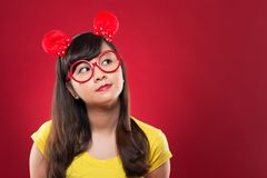 Round spectacles Royalty Free Stock Image