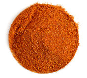 Round spice mix Royalty Free Stock Image