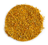 Round spice mix Royalty Free Stock Photo