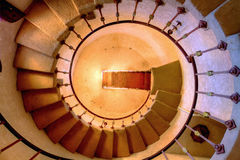 Round staircase Royalty Free Stock Photos