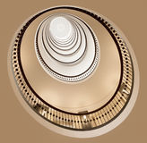 Round staircase Stock Photography
