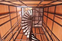 Round staircase Royalty Free Stock Photos