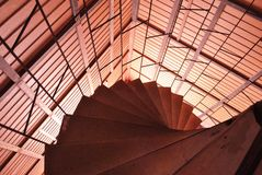 Round staircase Stock Images