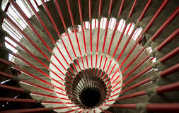 Round stairway Stock Photos