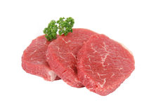 Round steaks Royalty Free Stock Image