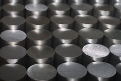 Round steel bars Stock Photography
