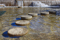 Round Stepping Stones Stock Photos