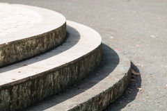 Round steps Royalty Free Stock Image