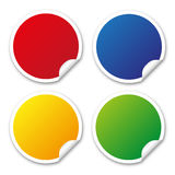 Round Stickers Royalty Free Stock Images