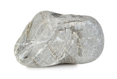 Round stone isolated Royalty Free Stock Image