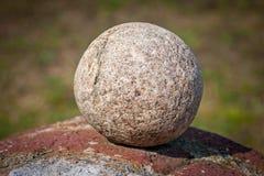 Round stone Stock Photography