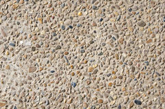Round stone rock as background or texture Royalty Free Stock Photos