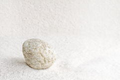 Round stone Royalty Free Stock Photography