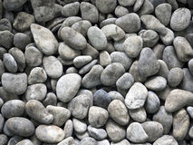 Round stone texture. Top view Stock Images