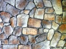 Round stone wall or pavement Royalty Free Stock Photography