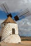 Round stone windmill in Lajares. Fuerteventura, Stock Images