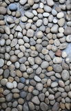 Round stones background. Abstract background with round peeble stones Royalty Free Stock Photo