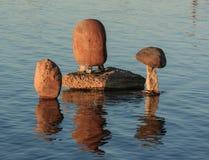 Round Stones Balanced Stock Image