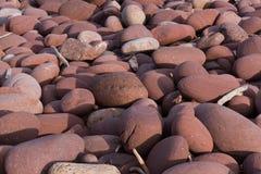 Round stones Stock Images