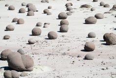 Round stones Stock Photography